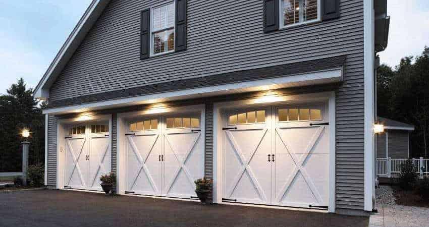 Residential Steel Garage Door - Courtyard Model