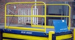 Blue Giant Dock Lift