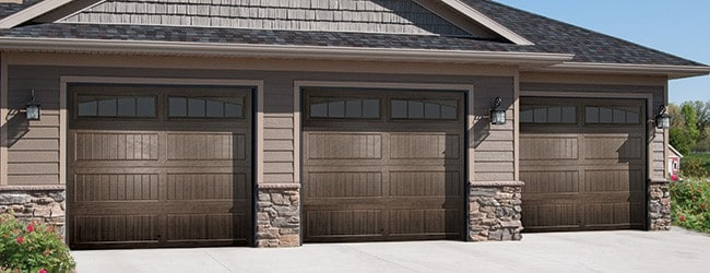 Awesome Insulated Garage Door Thermacore V10 Brown 650