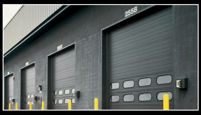 Commercial Sectional Steel Garage Door