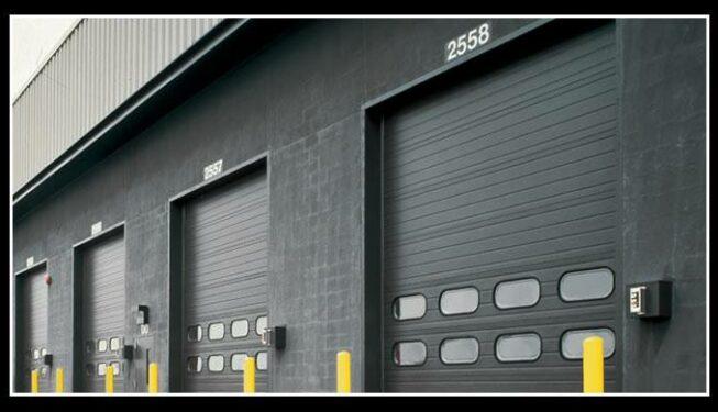 Commercial Sectional Steel Garage Door