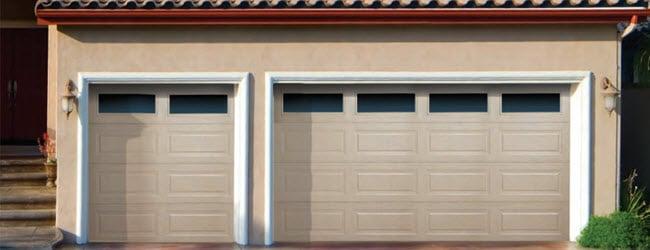 Traditional Steel Garage Door Long Panel Overhead Door