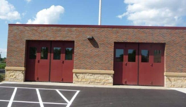 Bi-fold installed at City of Woodbury Police Department