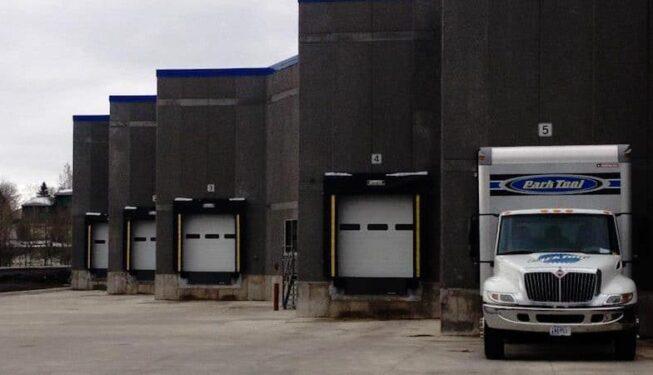 sectional steel doors and dock equipment