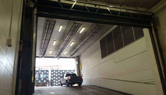 high speed garage door