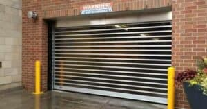 full-vision high speed garage door