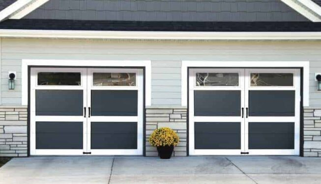 windload rated garage door