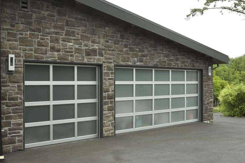 Residential Modern Aluminum Installations Overhead Door