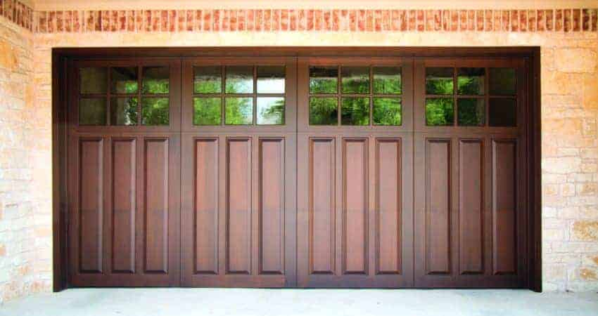 Signature Carriage Wood Garage Door