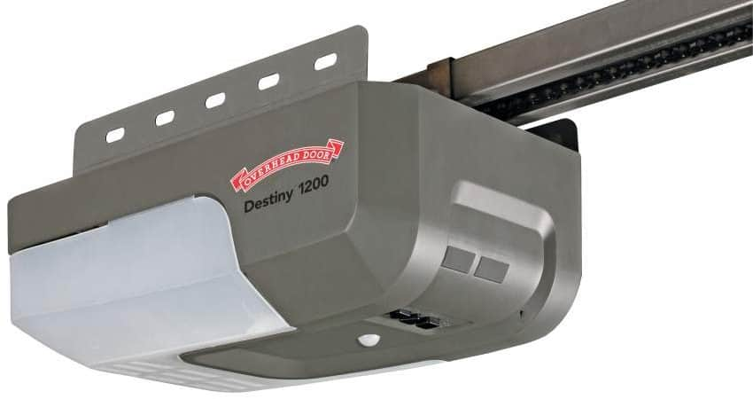 Residential garage door openers overhead door company for Selecting a garage door opener