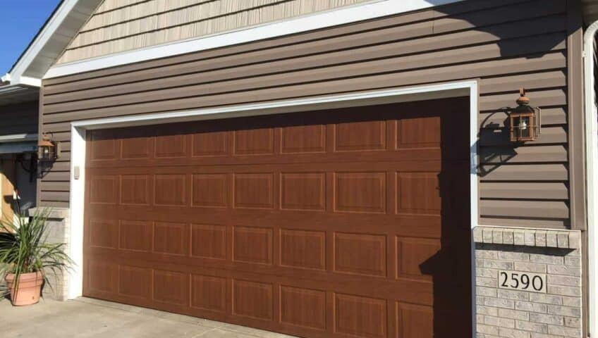 copy courtyard residential doors door nw steel model company overhead garage