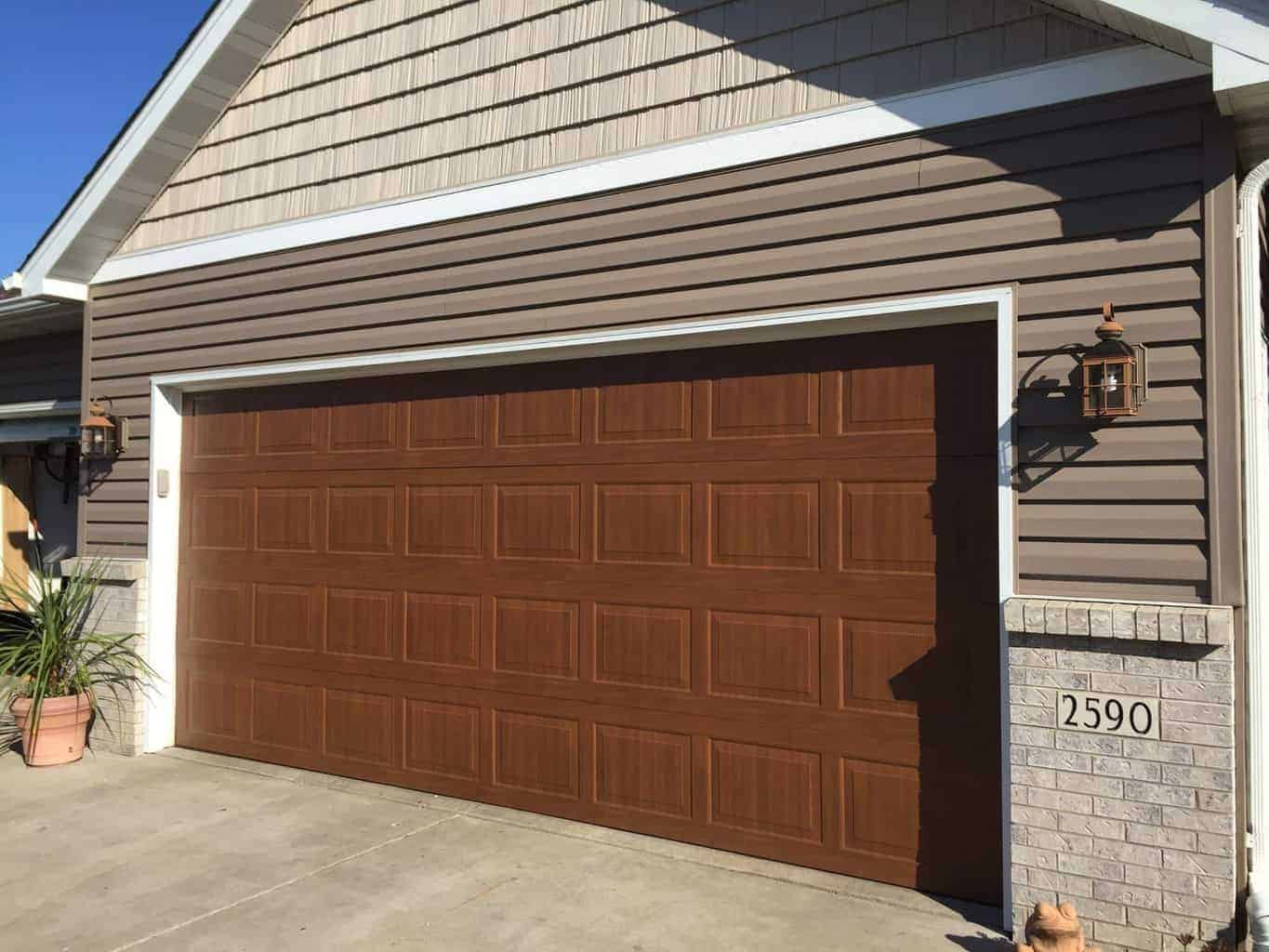 Thermacore 194 Series Steel Garage Door   Hastings, MN Install