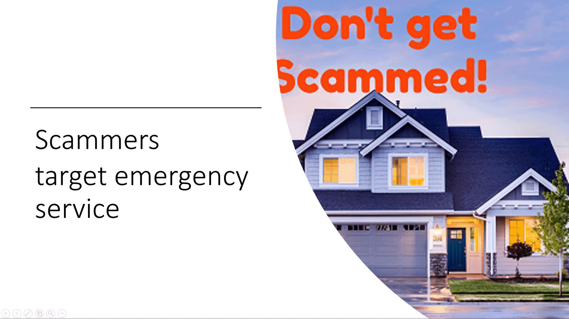 Garage Door Repairs are a Target: Don't get Scammed