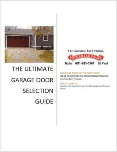 Ultimate guide to selecting a garage door