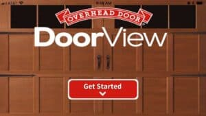 DoorView allows you to see a variety of garage doors on your house