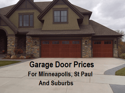 Garage Door Prices Minneapolis St Paul